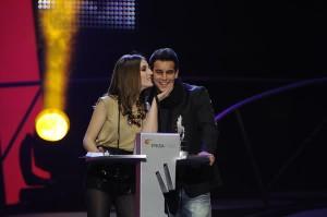 Mario Casas y su novia